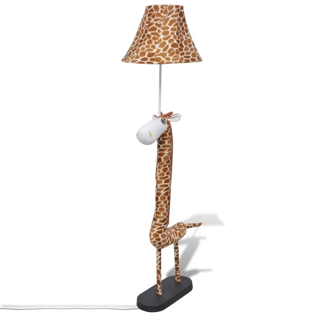 Lampă de podea în picioare cu aspect de girafă pentru decorare casă vidaxl.ro
