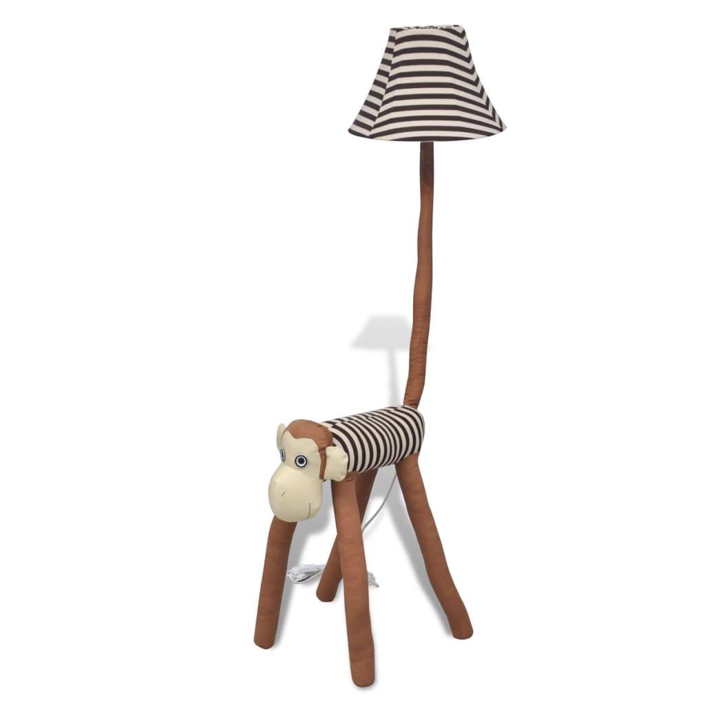 Lampă decorativă de podea sub formă de maimuță poza vidaxl.ro