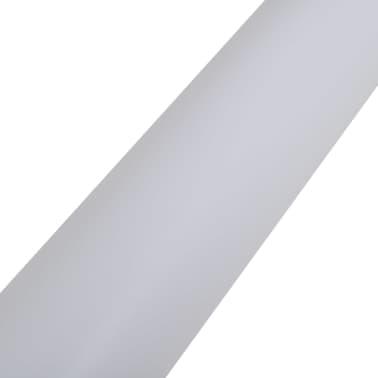 Película De Coche Mate Blanco Impermeable Burbuja Libre 500 x 152Cm[4/6]