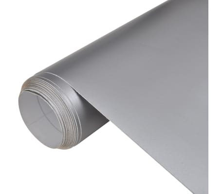 "Car Film Matt Silver 60"" x 79"" Waterproof Bubble Free"