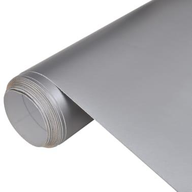 Auto wrapping folie mat zilver 200 x 152 cm[1/6]