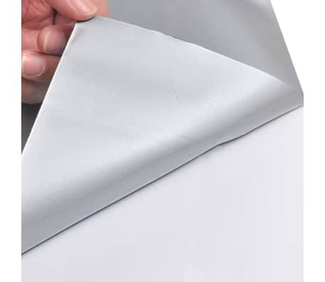 Auto wrapping folie mat zilver 200 x 152 cm[6/6]