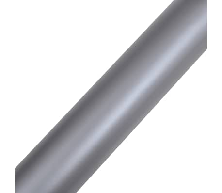 "Car Film Matt Silver 60"" x 197"" Waterproof Bubble Free[4/6]"