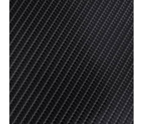 Película De Coche Vinilo De Fibra De Carbon 4D Negro 152 x 200cm[5/6]