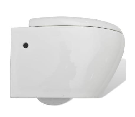 wand h nge wc toilette wandh ngend wc sitz wei zum schn ppchenpreis. Black Bedroom Furniture Sets. Home Design Ideas