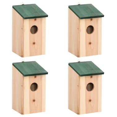 Дървени къщички за птици - 4 бр.[1/3]
