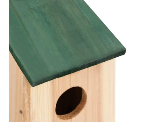 "vidaXL Bird Houses 4 pcs Wood 4.7'x4.7""x8.7""[7/9]"