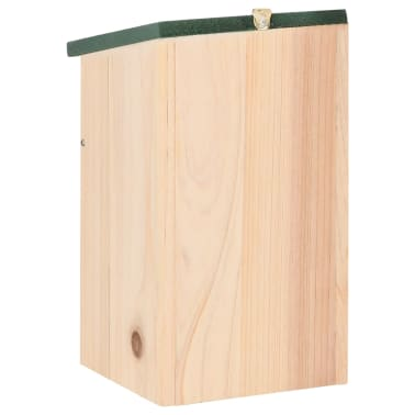 vidaXL Bird Houses 4 pcs Wood 4.7