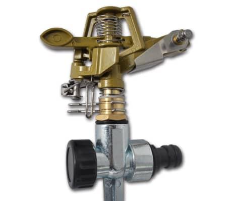 Impuls Sprinkler Gartenbewässerung Zink Metallspitzen[3/6]