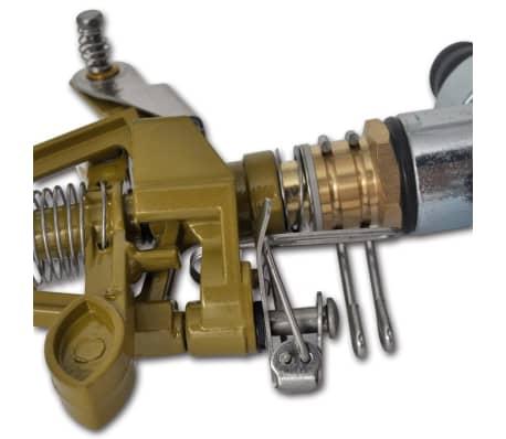 Impuls Sprinkler Gartenbewässerung Zink Metallspitzen[6/6]