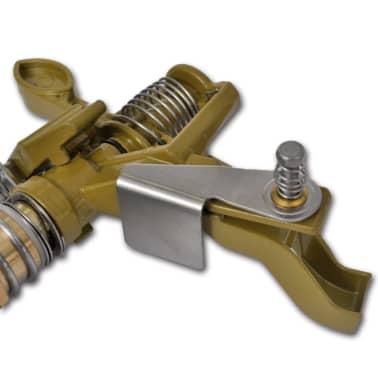 Impuls Sprinkler Gartenbewässerung Zink Metallspitzen[5/6]