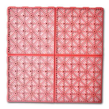 Set 24 pezzi Piastrelle plastica pavimento giardino 29 x 29 cm[2/5]