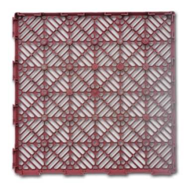 Set 24 pezzi Piastrelle plastica pavimento giardino 29 x 29 cm[3/5]