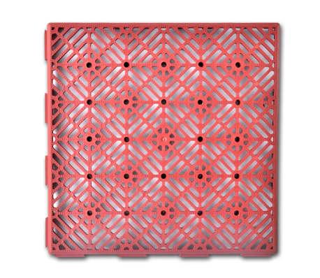 Shop 40918 Plastik fliser til haven 29 x 29 cm, 24 stk. | vidaXL