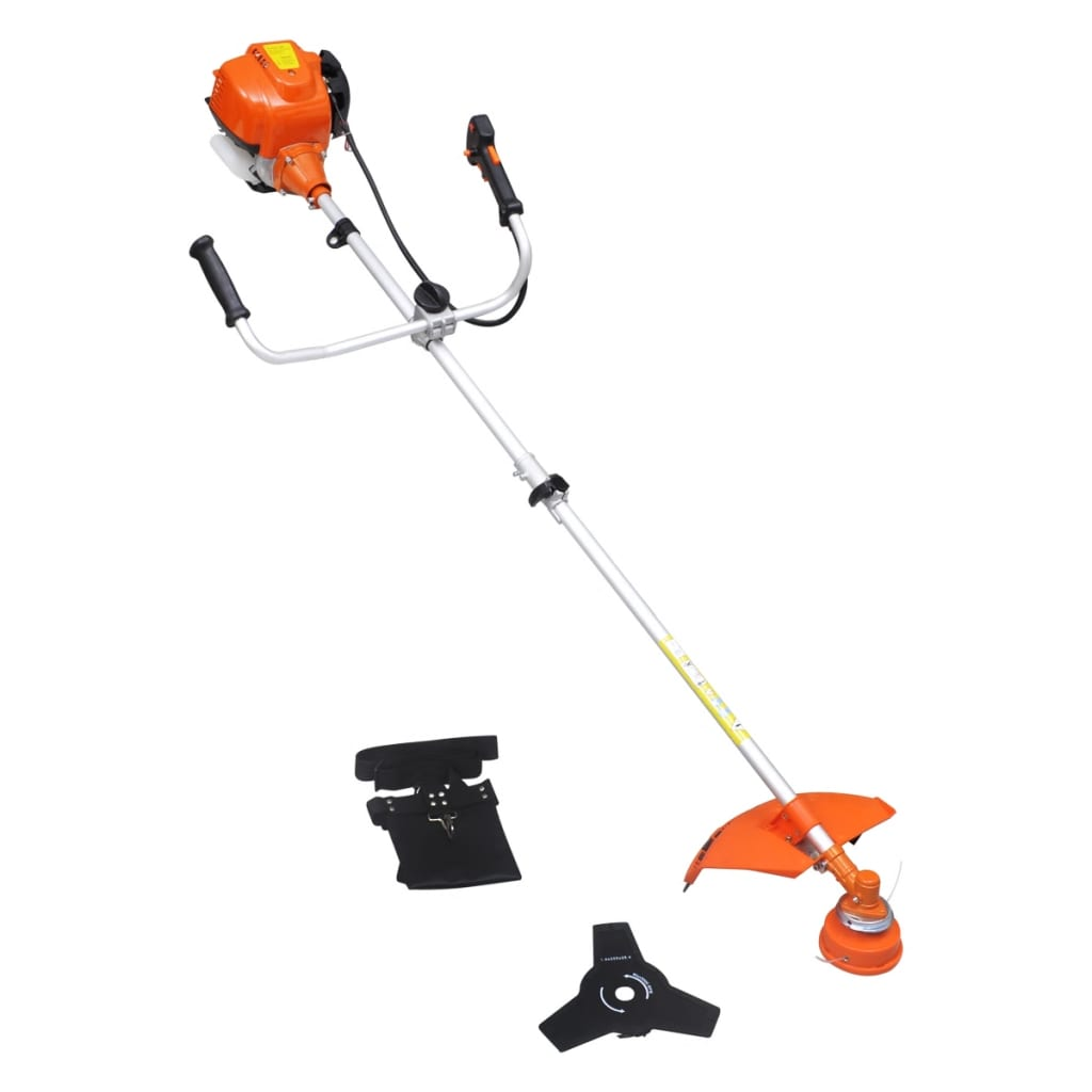 vidaXL Brush Cutter Grass Trimmer 4-Stroke 1 kW