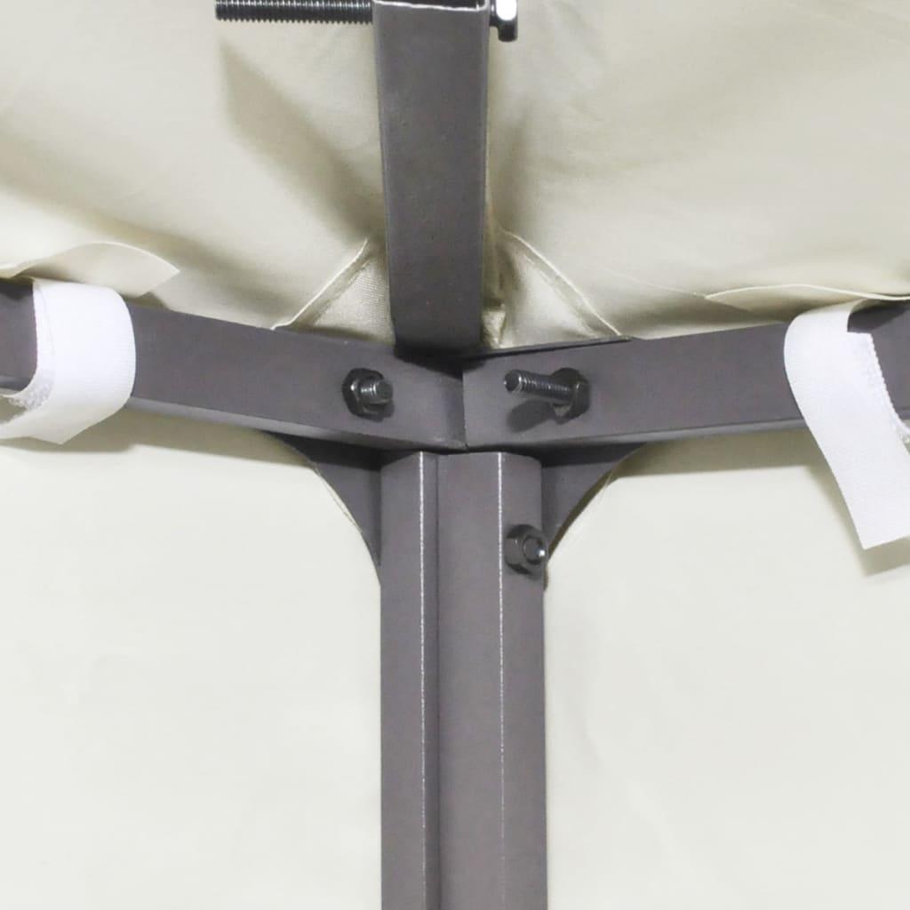 Nepromokavá náhradní střecha na altán 310g/m² krémově bílá 3x3m