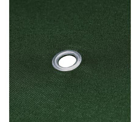 vidaXL Gazebo Cover Canopy Replacement 310 g / m² Green 3 x 3 m[5/5]