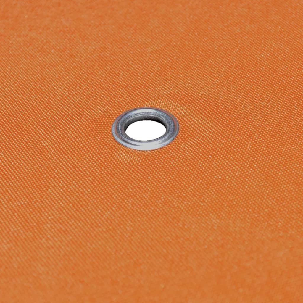 vidaXL Vervangend tentdoek prieel 310 g/m² 3x3 m terracotta