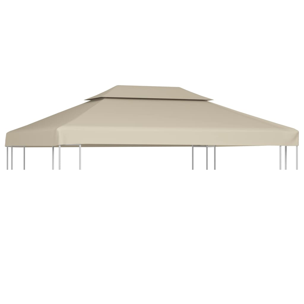 Gazebo Cover Canopy Replacement 9.14 oz//yd2 Beige 10/'x10/'