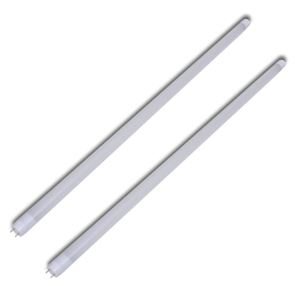Rezervă tuburi neon cu lumină albă caldă (2 buc.), 90 cm poza vidaxl.ro