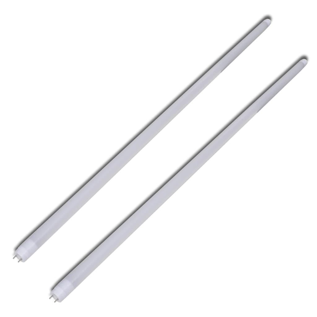 Rezervă tuburi neon cu lumină albă caldă (2 buc.), 120 cm poza vidaxl.ro