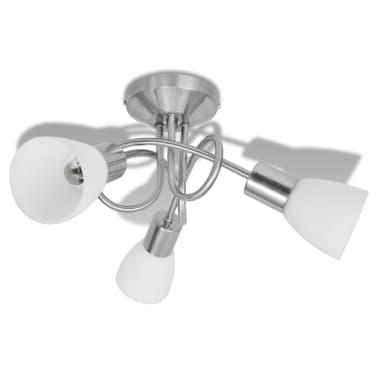 Loftslampe m. glasskærme 3 E14 pærer[2/8]