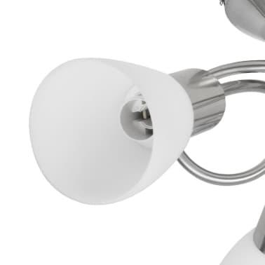 Lampada da Soffitto con Diffusori in Vetro per 3 lampadine E14[3/8]
