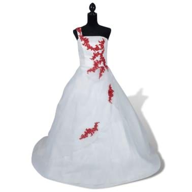 Hochzeitskleid Brautkleid Abendkleid Ballkleid Modell A 34[1/8]