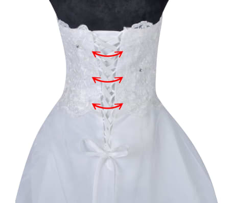Vestidos blancos talla 46
