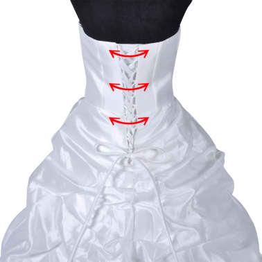 Hochzeitskleid Brautkleid Abendkleid Ballkleid Modell D 38[8/8]