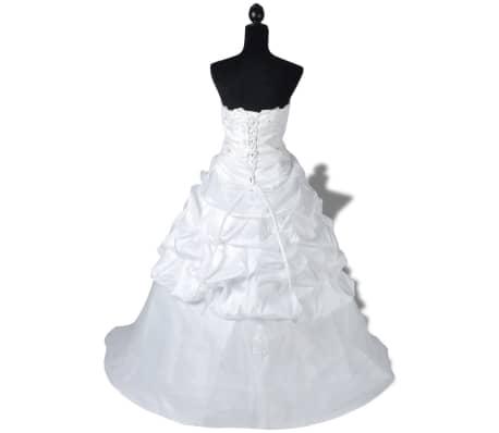 acheter robe de mari e l gante blanche mod le e taille 34 pas cher. Black Bedroom Furniture Sets. Home Design Ideas