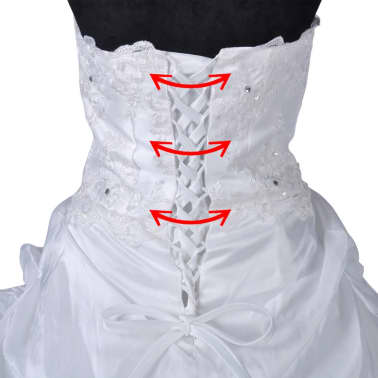 Hochzeitskleid Brautkleid Abendkleid Ballkleid Modell E 34[7/8]