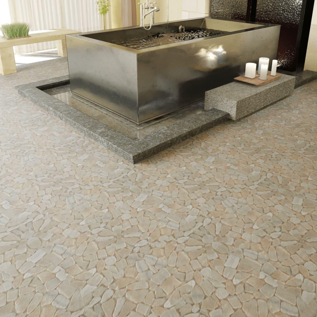 Kamenná mozaika zlatý mramor obklady, 0,9 m2