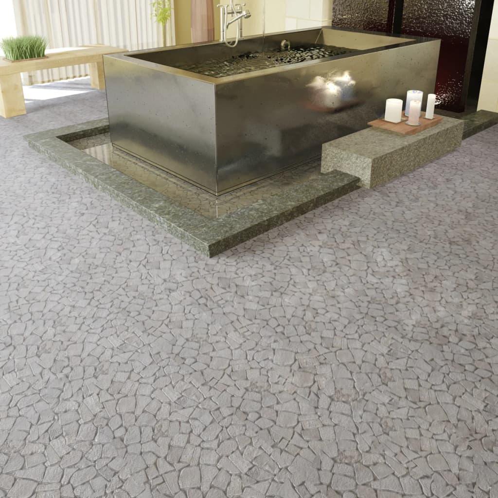 Kamenná mozaika bílý mramor obklady, 0,9 m2