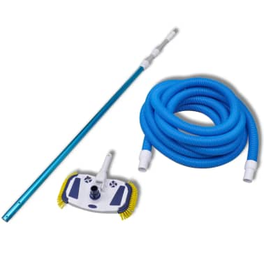 Pool Cleaning Tool Vacuum with Telescopic Pole and Hose[2/6]