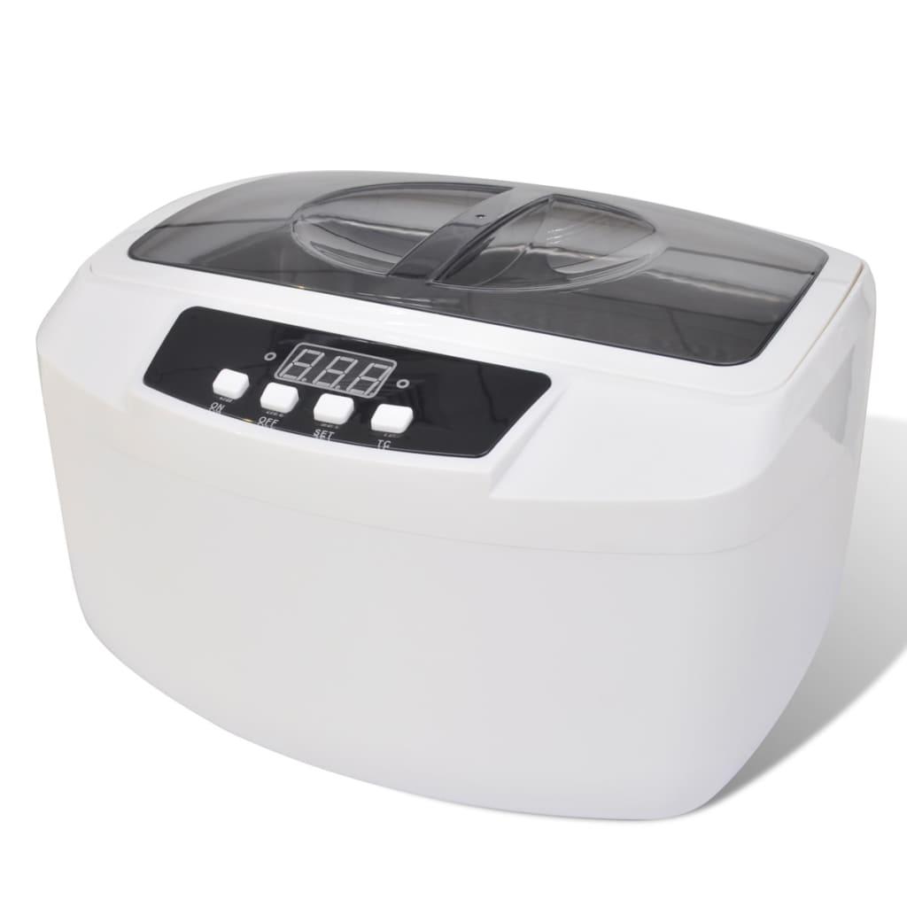 Digitální ultrazvukový čistič šperků a hodinek - 2500 ml
