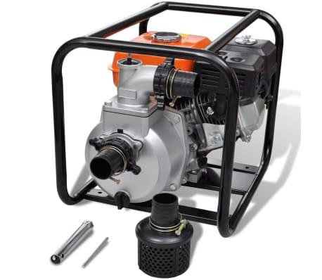 vidaXL Pompe à eau à moteur à essence 50 mm Connexion 5,5 ch