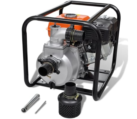 vidaXL Petrol Engine Water Pump 50 mm Connection 5.5 HP