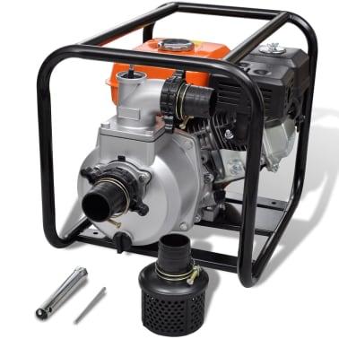 Benzin-Wasserpumpe 80 mm Schlauchanschluss 6,5 PS[1/9]