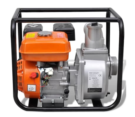 Benzin-Wasserpumpe 80 mm Schlauchanschluss 6,5 PS[4/9]