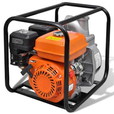Benzin-Wasserpumpe 80 mm Schlauchanschluss 6,5 PS[5/9]