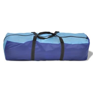 Tente de camping imperméable 6 Personnes Bleu marin/bleu clair[5/9]