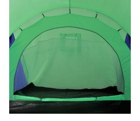 Familienzelt Kuppelzelt Campingzelt 6 Personen Grün[6/9]