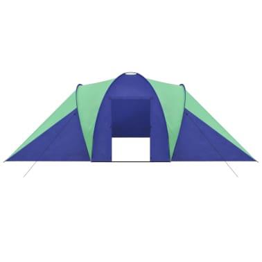 Familienzelt Kuppelzelt Campingzelt 6 Personen Grün[3/9]