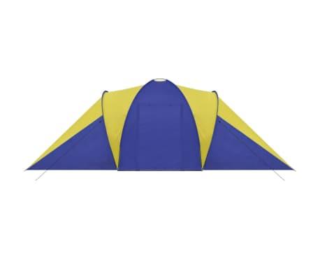 Tienda De Campaña 6 Personas Azul Marino / Amarillo[4/9]