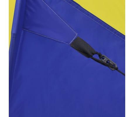 Familienzelt Kuppelzelt Campingzelt 6 Personen Gelb[7/9]