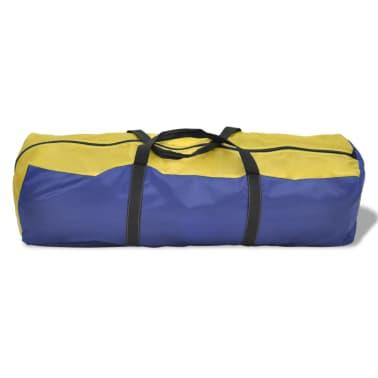 Tienda De Campaña 6 Personas Azul Marino / Amarillo[5/9]