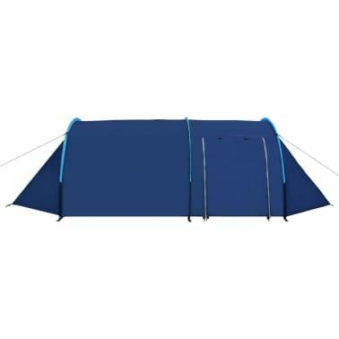 vidaXL Tienda de campaña para 4 personas azul marino/azul claro[3/9]