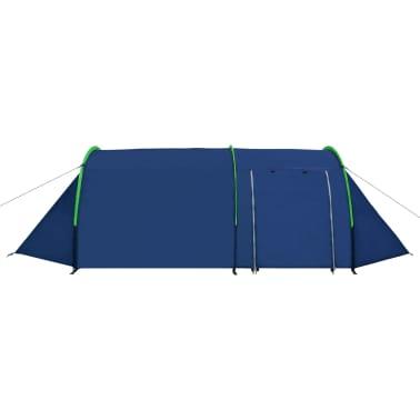 Kemping Sátor 4 Személy Sötétkék/Zöld[3/9]