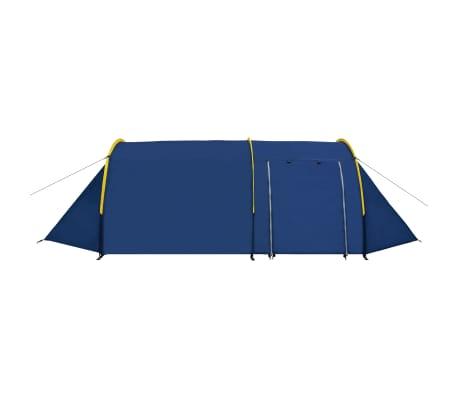 Tienda De Campaña 4 Personas Azul Marino / Amarillo[3/10]